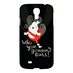 Who You Gonna Call Samsung Galaxy S4 I9500/i9505 Hardshell Case by Contest1771913