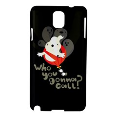 Who You Gonna Call Samsung Galaxy Note 3 N9005 Hardshell Case by Contest1771913
