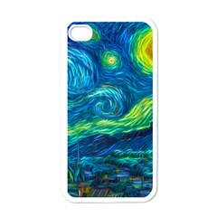 Starry Night Apple Iphone 4 Case (white) by Contest1775858a