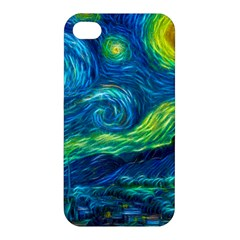 Starry Night Apple Iphone 4/4s Premium Hardshell Case