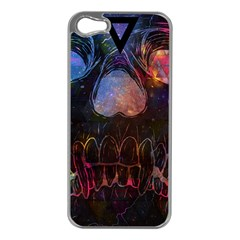 Third Eye Cosmic Apple Iphone 5 Case (silver) by Contest1775858a