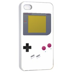 Handheld Gaming Apple Iphone 4/4s Seamless Case (white)