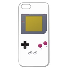 Handheld Gaming Apple Seamless Iphone 5 Case (clear) by Contest1775858a