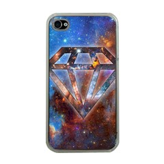 Cosmic Diamond Apple Iphone 4 Case (clear) by Contest1775858a