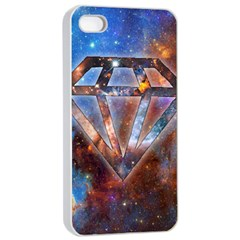 Cosmic Diamond Apple Iphone 4/4s Seamless Case (white) by Contest1775858a
