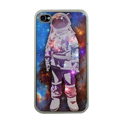 The Astronaut Apple Iphone 4 Case (clear) by Contest1775858a