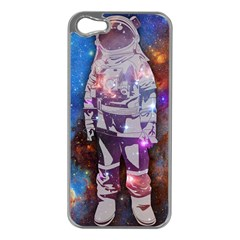 The Astronaut Apple Iphone 5 Case (silver) by Contest1775858a