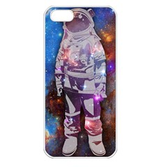 The Astronaut Apple Iphone 5 Seamless Case (white) by Contest1775858a