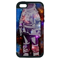 The Astronaut Apple Iphone 5 Hardshell Case (pc+silicone) by Contest1775858a