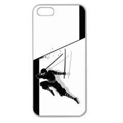 Slice Apple Seamless Iphone 5 Case (clear) by Contest1732468