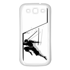 Slice Samsung Galaxy S3 Back Case (white) by Contest1732468