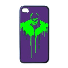 Incredible Green Apple Iphone 4 Case (black) by Contest1769124