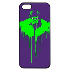Incredible Green Apple Iphone 5 Seamless Case (black) by Contest1769124
