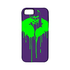 Incredible Green Apple Iphone 5 Classic Hardshell Case (pc+silicone) by Contest1769124