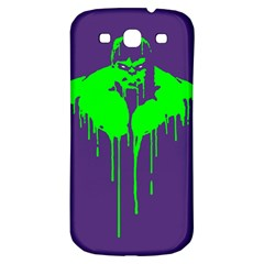 Incredible Green Samsung Galaxy S3 S Iii Classic Hardshell Back Case by Contest1769124