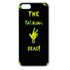 The Talking Dead Apple Seamless Iphone 5 Case (clear) by TheTalkingDead