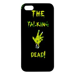 The Talking Dead Iphone 5 Premium Hardshell Case by TheTalkingDead