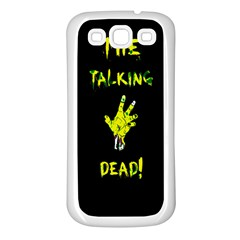 The Talking Dead Samsung Galaxy S3 Back Case (white) by TheTalkingDead
