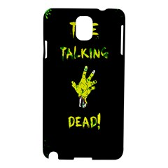 The Talking Dead Samsung Galaxy Note 3 N9005 Hardshell Case by TheTalkingDead