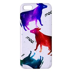 Cowcow   Cow  Iphone 5 Premium Hardshell Case