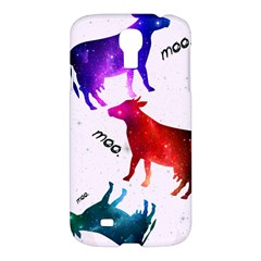 Cowcow   Cow  Samsung Galaxy S4 I9500/i9505 Hardshell Case