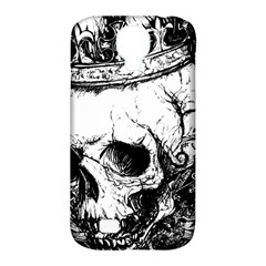 Skull King Samsung Galaxy S4 Classic Hardshell Case (pc+silicone) by TheTalkingDead