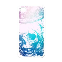 Skull King Colors Apple Iphone 4 Case (white) by TheTalkingDead