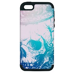 Skull King Colors Apple Iphone 5 Hardshell Case (pc+silicone) by TheTalkingDead