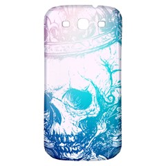 Skull King Colors Samsung Galaxy S3 S Iii Classic Hardshell Back Case by TheTalkingDead