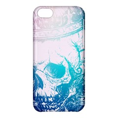 Skull King Colors Apple Iphone 5c Hardshell Case by TheTalkingDead
