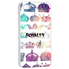 Royalty Apple Iphone 4/4s Seamless Case (white) by TheTalkingDead