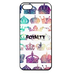 Royalty Apple Iphone 5 Seamless Case (black) by TheTalkingDead