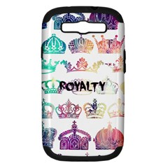 Royalty Samsung Galaxy S Iii Hardshell Case (pc+silicone) by TheTalkingDead
