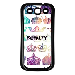 Royalty Samsung Galaxy S3 Back Case (black) by TheTalkingDead