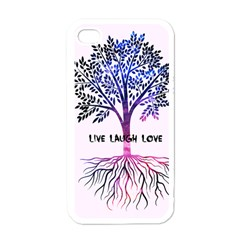 Tree Of Live Laugh Love  Apple Iphone 4 Case (white)