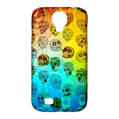 Sugary Skulls Samsung Galaxy S4 Classic Hardshell Case (pc+silicone) by TheTalkingDead