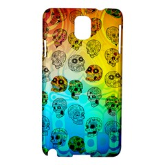 Sugary Skulls Samsung Galaxy Note 3 N9005 Hardshell Case by TheTalkingDead