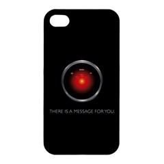 There Is A Message For You  Apple Iphone 4/4s Premium Hardshell Case by ContestDesigns