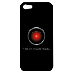 There Is A Message For You  Apple Iphone 5 Hardshell Case by ContestDesigns