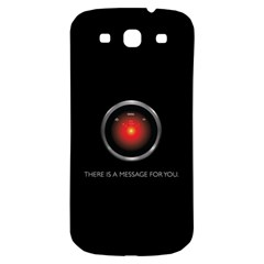 There Is A Message For You  Samsung Galaxy S3 S Iii Classic Hardshell Back Case by ContestDesigns