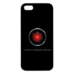 There Is A Message For You  Iphone 5 Premium Hardshell Case by ContestDesigns