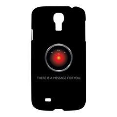 There Is A Message For You  Samsung Galaxy S4 I9500/i9505 Hardshell Case by ContestDesigns