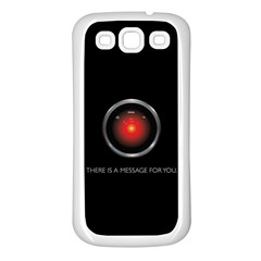 There Is A Message For You  Samsung Galaxy S3 Back Case (white) by ContestDesigns