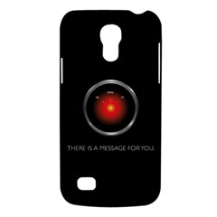 There Is A Message For You  Samsung Galaxy S4 Mini Hardshell Case  by ContestDesigns