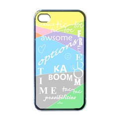 Oh Write Apple Iphone 4 Case (black)