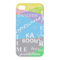 Oh Write Apple Iphone 4/4s Premium Hardshell Case by Contest1719785