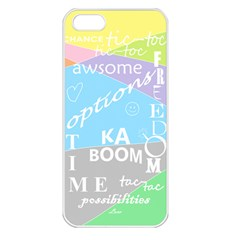 Oh Write Apple Iphone 5 Seamless Case (white)
