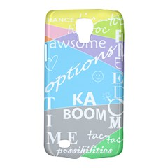 Oh Write Samsung Galaxy S4 Active (i9295) Hardshell Case by Contest1719785
