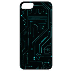 Circuit Board Apple Iphone 5 Classic Hardshell Case by TheTalkingDead