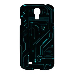 Circuit Board Samsung Galaxy S4 I9500/i9505 Hardshell Case by TheTalkingDead